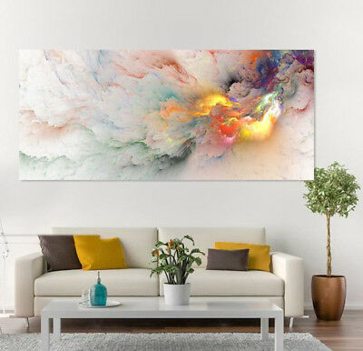 ABSTRACT WALL ART COLORFUL SCENERY high quality wall Canvas home decor