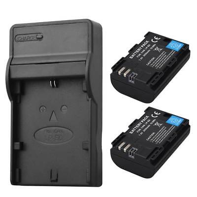 Replacement 2650mAh LP-E6 Battery for Canon EOS 5DS R 5D Mark II Mark III 6D 80D