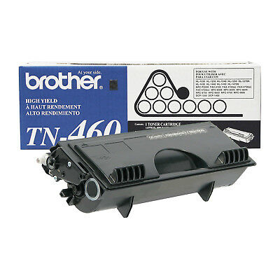 Brother Genuine TN460 High Yield Black Toner Cartridge