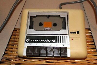 Commodore tape drive