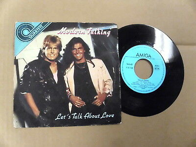 Modern Talking-Let´s Talk About Love (1986) Ddr Gdr Amiga Prs 45 Rpm Ep 4 Tracks