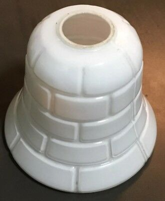 Antique Queensland Government Railway Carriage Lamp Shade