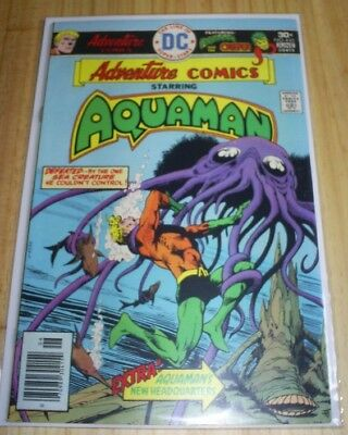 Adventure Comics 445 Vfn/nm 9.0 Aquaman + Creeper Story 1St Series. Bronze Age.