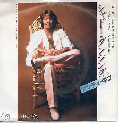 Andy Gibb Shadow dancing - Let it be me / Japan
