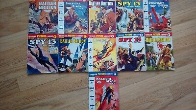 Thriller Picture Library - Set of 11 issues - all in perfect readable condition