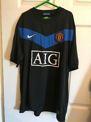 mens manchester united shirt large