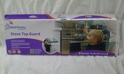Dreambaby Stove Top Guard Transparent Child Safety Baby Proofing