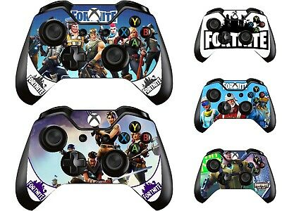 Fortnite Battle Royale Shooter Xbox One Controller Pad Sticker Skin