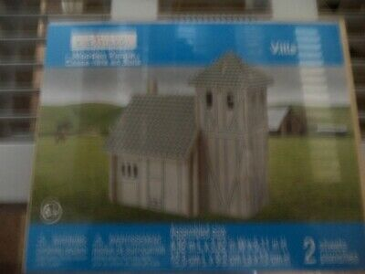 """Creatology 3D Wood Puzzle: Ranch House or Villa 6.5"""" x 4"""" x H"""" by Michaels NIP"""