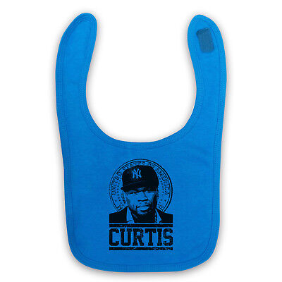 50 Cent Unofficial Curtis Jackson Tribute Rap Hip Hop Baby Bib Cute Baby Gift