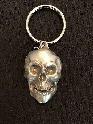 Skeleton Pewter Keychain