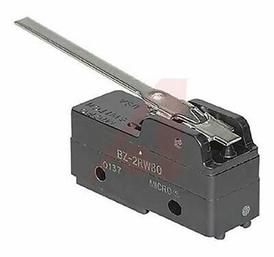 SPDT Straight Lever Microswitch, 15 A