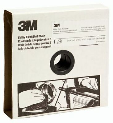 3M Aluminium Oxide Very Fine Abrasive Cloth Roll P180 Grit, 25m x 38mm