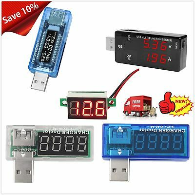 USB Charger Doctor Voltage Current Meter Capacity Tester Power Detector GGS&