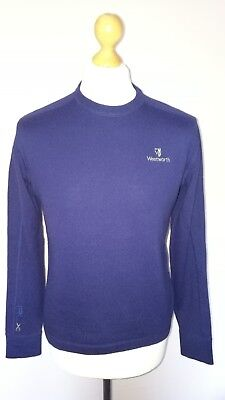 RALPH LAUREN WENTWORTH RLX GOLF JUMPER sz S ROYAL BLUE