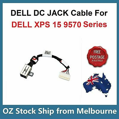 DC Power Input Jack Cable For Dell XPS 15 9570 P56F P56F002 Series