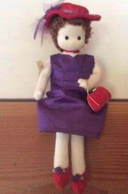 Red Hat Society Musical Doll