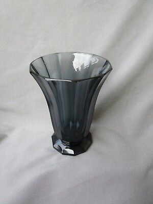 Antique Vintage Art Deco Moser Crystal Glass Vase Josef Hoffmann?