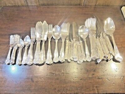 """EXCELLENT Viners SILVER PLATED 82 pc """"KINGS"""" CANTEEN/SET CUTLERY"""