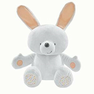 Forever Friends Soft Bunny Cot Cuddly Toy Infant Baby Comforter Crinkle & Rattle