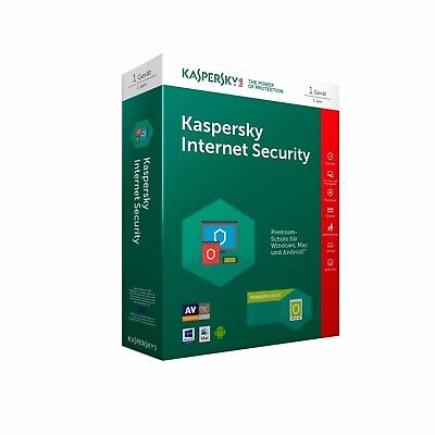 Kaspersky Internet Security 2019 1PC / Geräte 1Jahr Vollversion Key per E-Mail