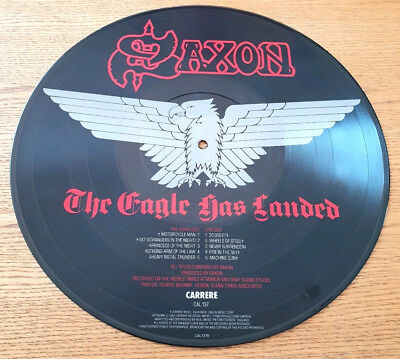 Saxon>>The Eagle Has Landed>>Live>>1982>>Pic Disc>>Carrere Label