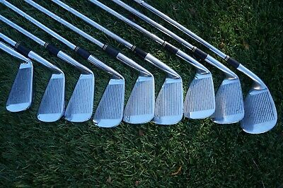 Set of 9 Mizuno Pro Irons - Right Handed - Steel Shafts