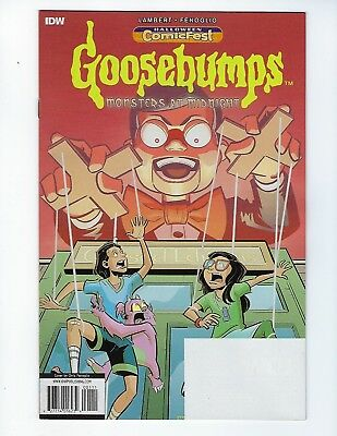 Goosebumps: Monsters At Midnight #1 (Idw, Halloween Comicfest 2018), Nm