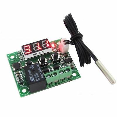 -50-110°C W1209 DC Digital Thermostat Temperature Control Switch 12V + Sensor
