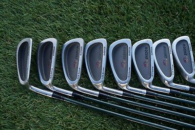 Set of 8 Mitsushiba Shadow Oversized Irons - Left Handed - Graphite Shafts