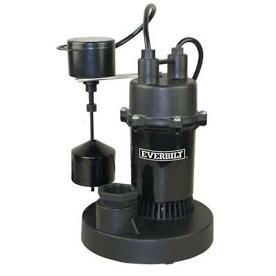 Everbilt 1/3 HP Submersible Sump Pump with Vertical (A16)