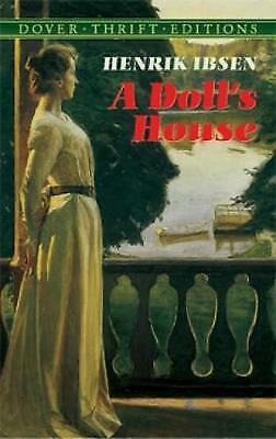 """VERY GOOD"" A Doll's House (Dover Thrift Editions), Ibsen, Henrik, Book"