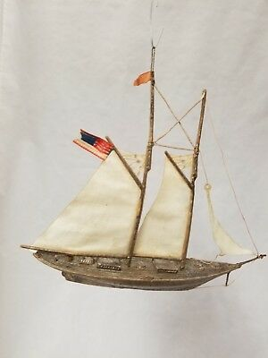 Beautiful Vintage Antique 1900's Dresden Yacht