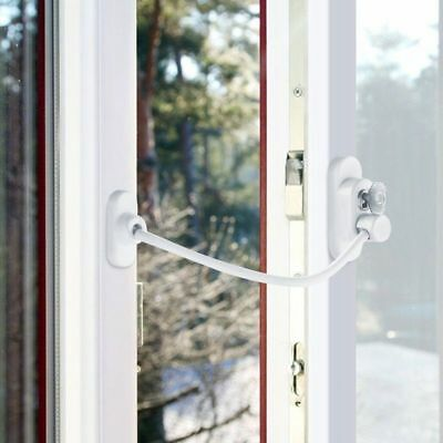 1/2/4 Pcs Window Door Restrictor Security Locking Cable Wire Child Baby Safety