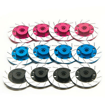 1Set Aluminum Sport Edition Wheel Rim Brake Disc for Sakura D3 CS D4 RC Car