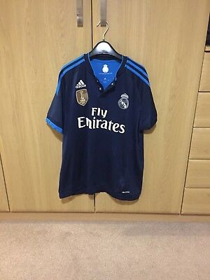 Mens Real Madrid Top Size Large