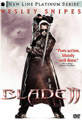 Blade II (DVD, 2004, Single Disc)*disc only