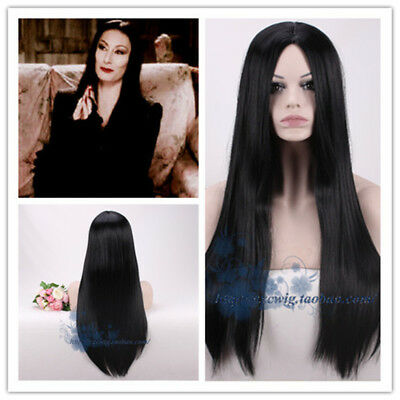 Black Short Wig For Cosplay Lurch Addams The Addams Family Party