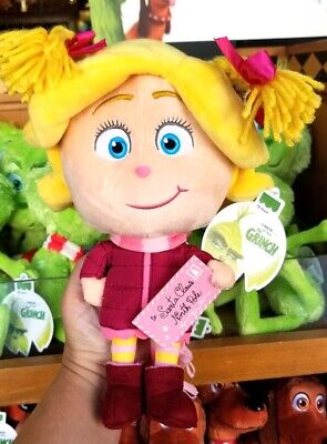 Dr Seuss The Grinch (2018) Universal Studios Parks Plush Cindy Lou Who Girl