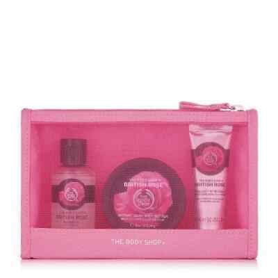 The Body Shop British Rose Delights Bag Gift Set