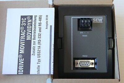 SEW Eurodrive USS21A Serial Interface 8229147.10 RS232/RS485 New