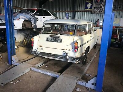 Extremely Rare 1960 Humber Hawk Estate For Restoration With Reg Number 1932Tr