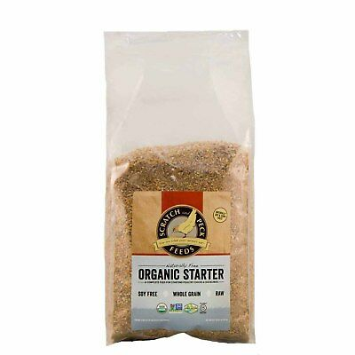 Scratch and Peck Feeds Naturally Free Organic Starter Feed - 10-lbs