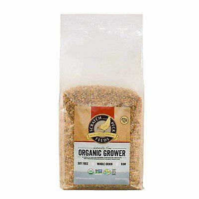 Scratch and Peck Feeds 2003-10 Naturally Free Organic Grower Feed - 10-lbs