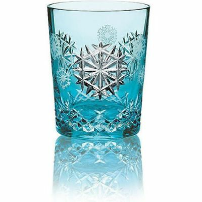Waterford Snowflake Wishes Happiness 2018 Aqua Crystal DOF