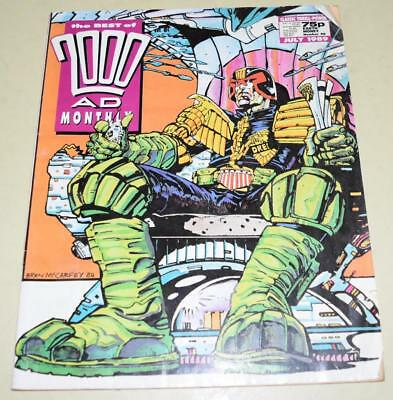 2000 AD Comics Best of Monthly July 1989 Judge Dredd {Paper Comic] *EXC Cond