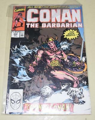 CONAN THE BARBARIAN [Marvel Comics] Issue 232 May 1989 The Coming of Conan *EXC