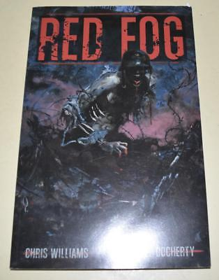 RED FOG Graphic Novel - Chris Williams & Michael Docherty WWII Fantasy *EXC Con