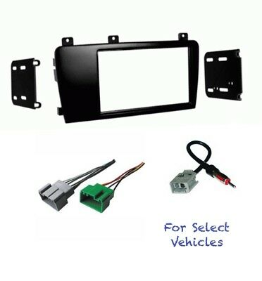 Double Din Car Stereo Radio Dash Wire Kit Combo for some Cadillac Catera//Deville