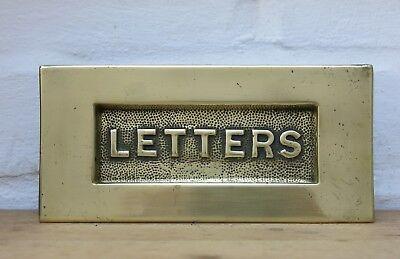 Vintage BRASS Letter Box (REFURBISHED)